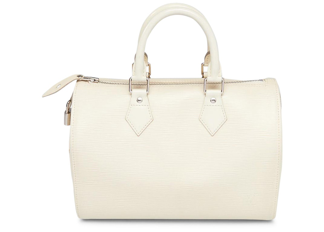 Louis Vuitton Speedy Epi 25 Ivorie/White