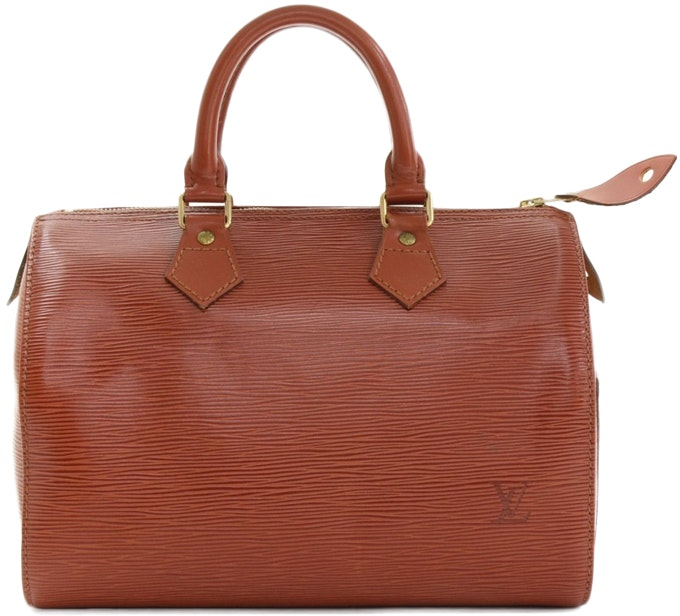 Louis Vuitton Speedy Epi 25 Kenyan Fawn