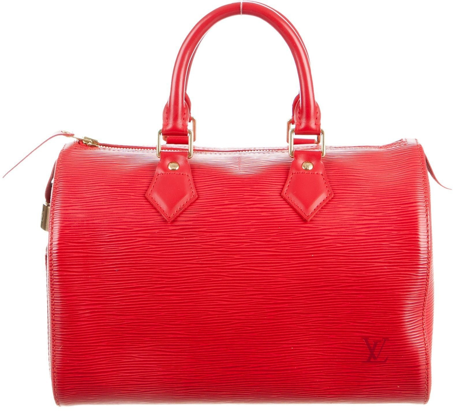 Louis Vuitton Speedy Epi 25 Red