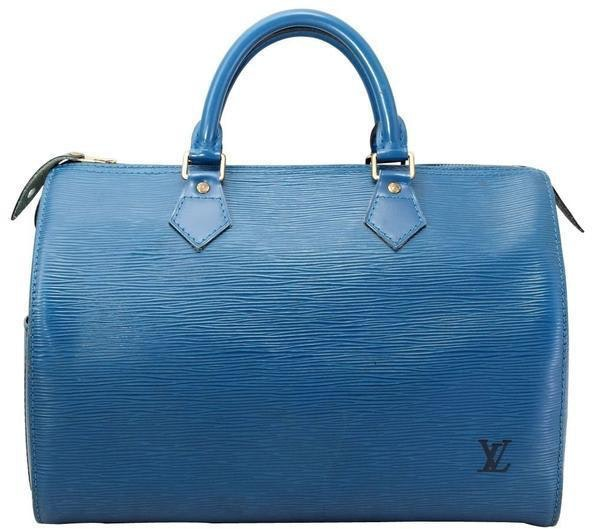 Louis Vuitton Speedy Epi 30 Blue