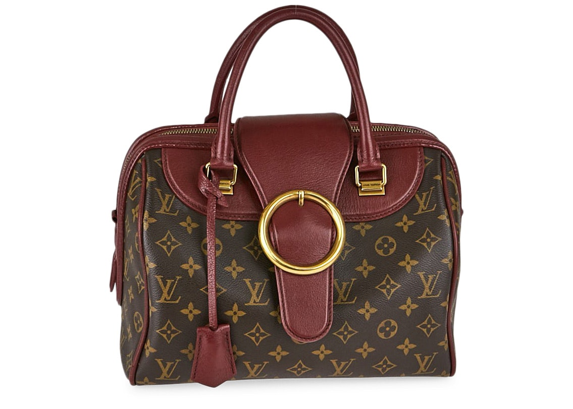 Louis Vuitton Speedy Golden Arrow Monogram Bordeaux