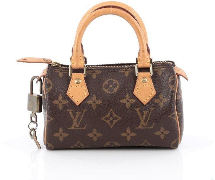 Louis Vuitton Speedy Hl Monogram Mini Brown