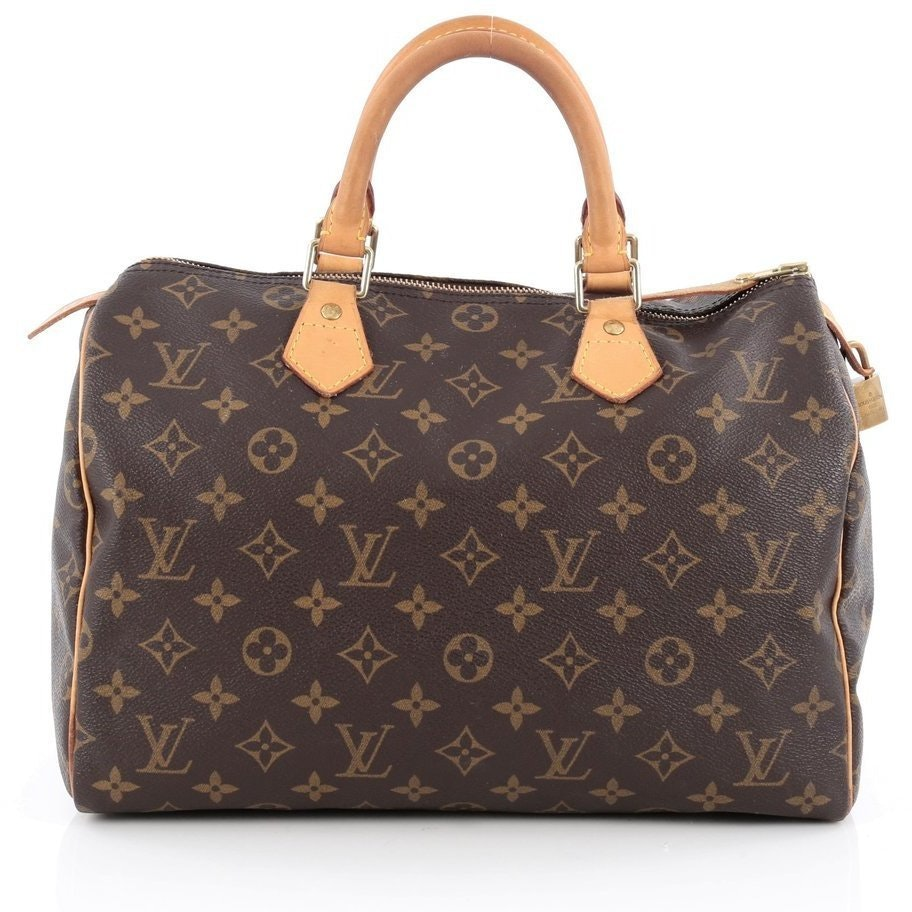 Louis Vuitton Speedy Monogram 30 Brown