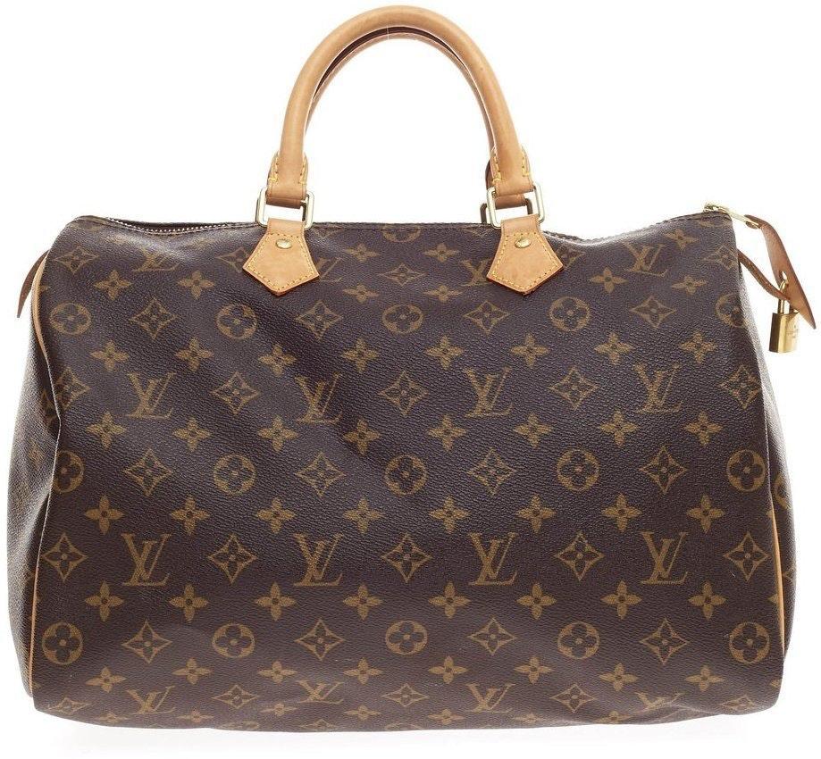 Louis Vuitton Speedy Monogram 35 Brown