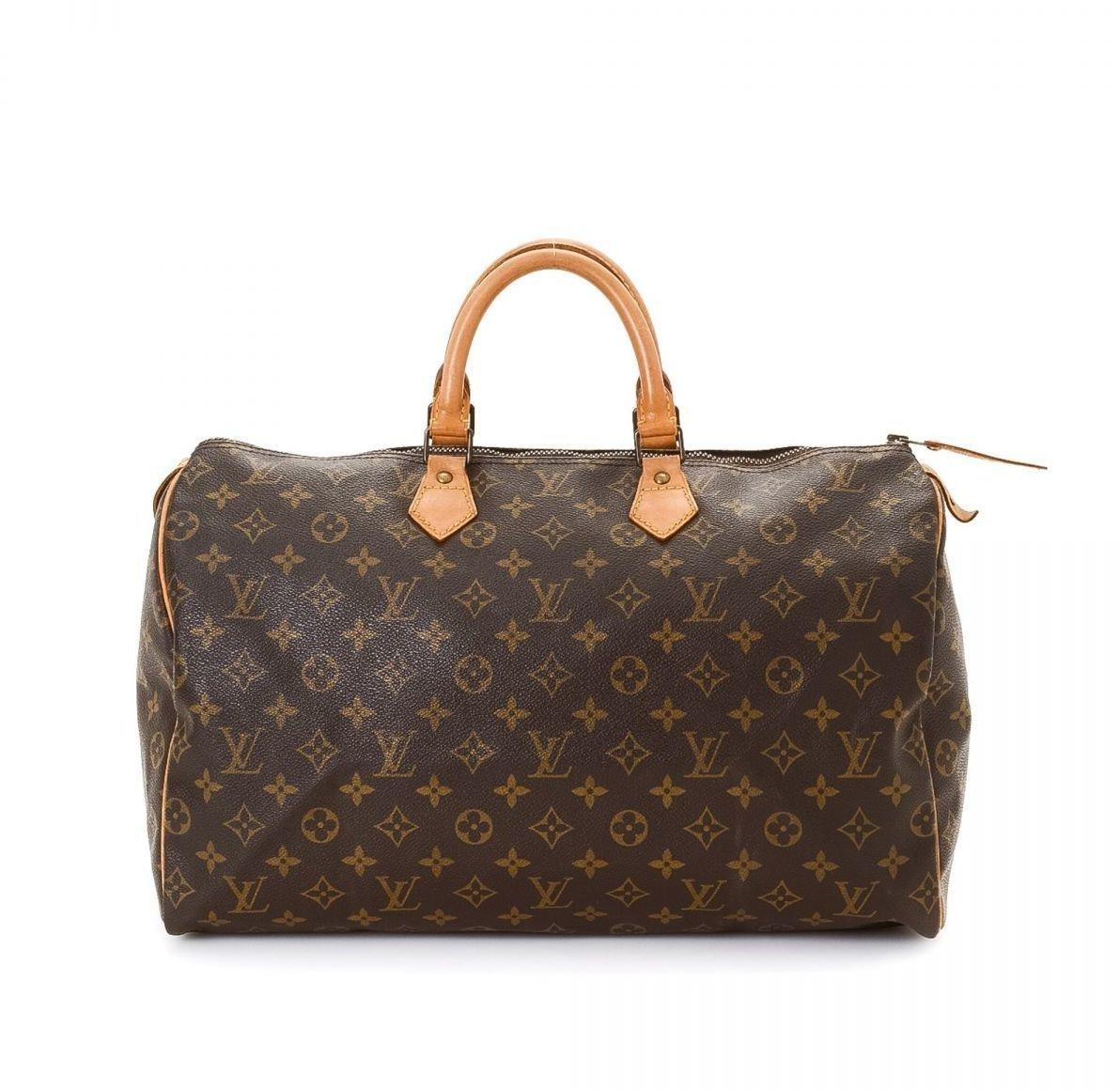 Louis Vuitton Speedy Monogram 40 Brown