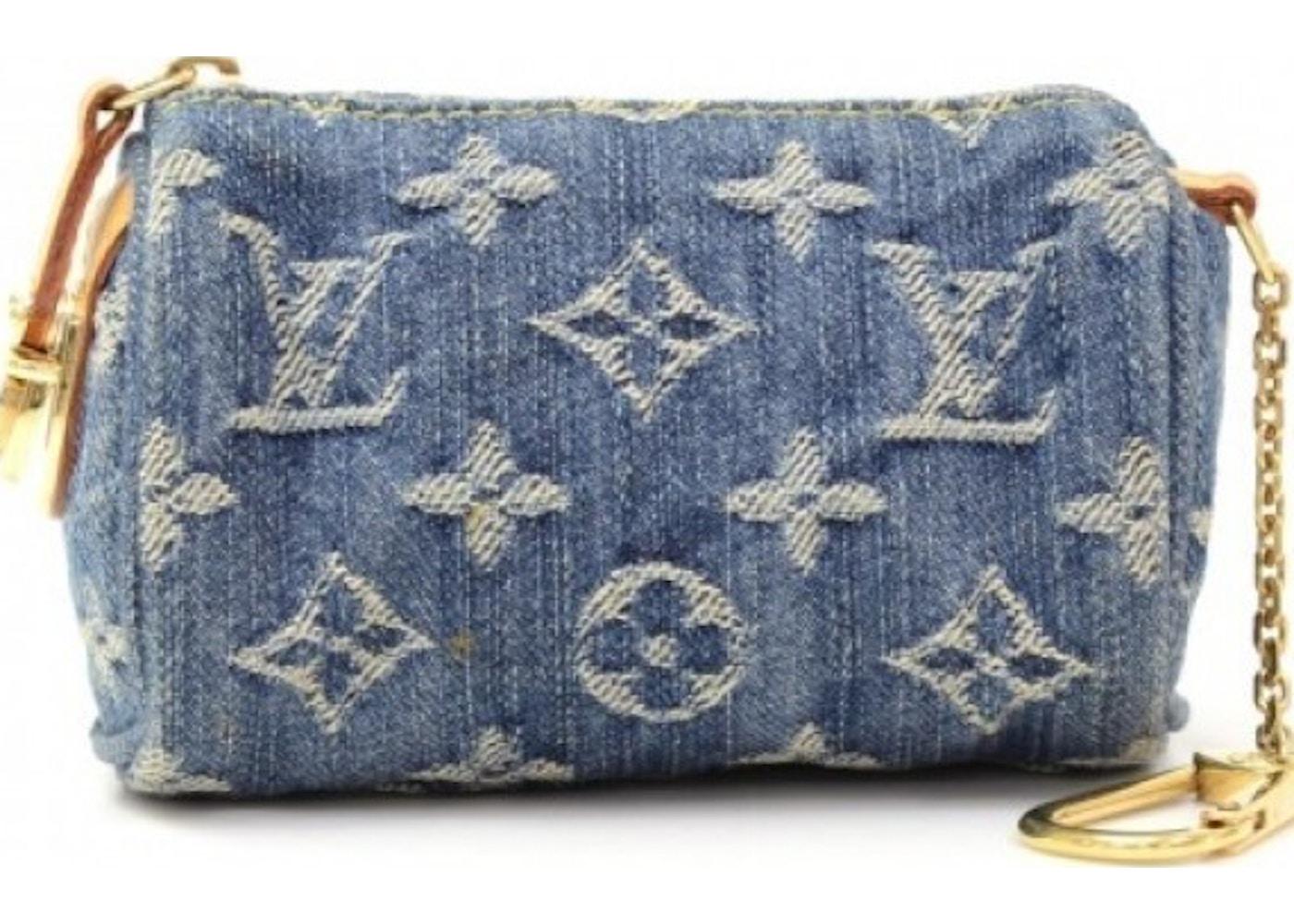 c090f762ac8e Sell. or Ask. View All Bids. Louis Vuitton Speedy Key Pouch Monogram Mini  Blue