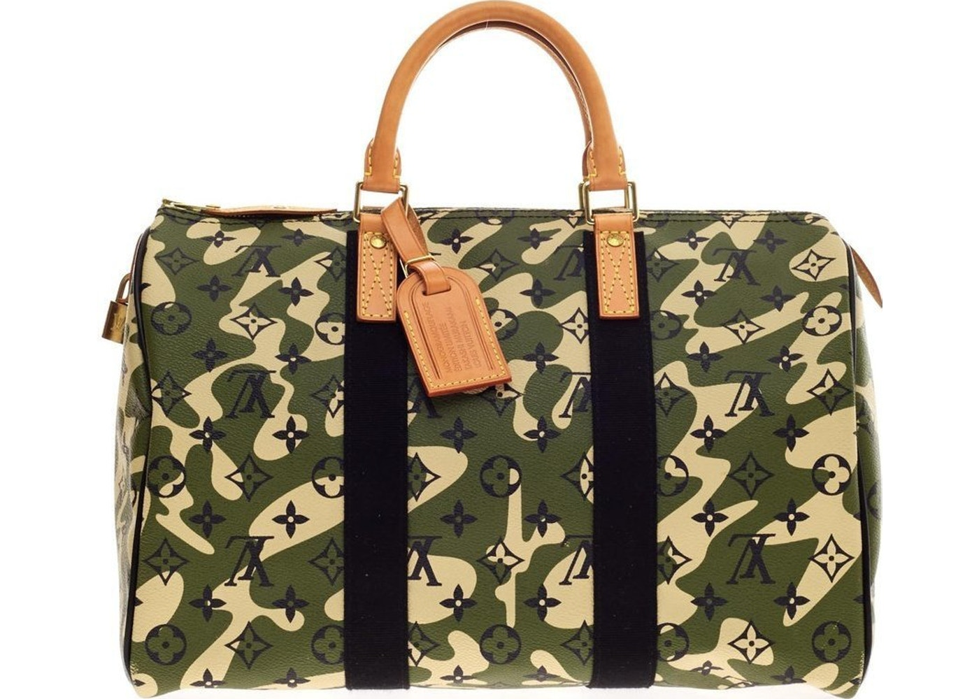 f887cffb73 Sell. or Ask. View All Bids. Louis Vuitton Speedy Monogramouflage 35 Green