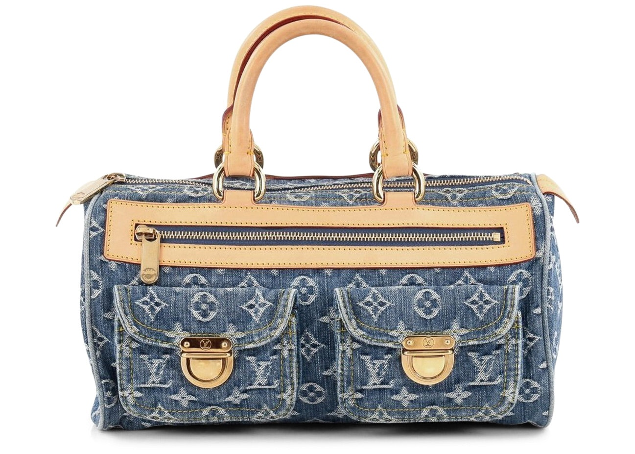 Louis Vuitton Speedy Neo Monogram Denim Blue