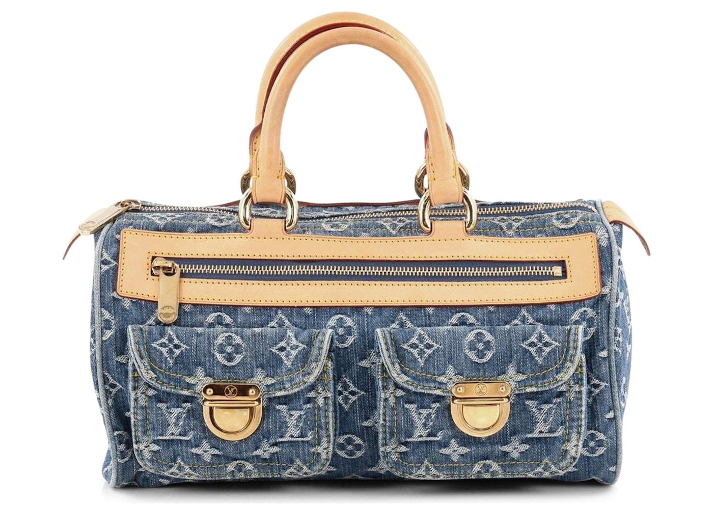 Louis Vuitton Speedy Neo Monogram Denim Blue. Monogram Denim Blue 83faf5d1f1639
