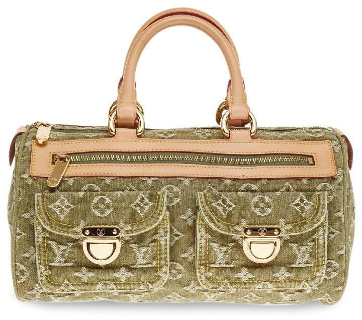 Louis Vuitton Speedy Neo Monogram Green
