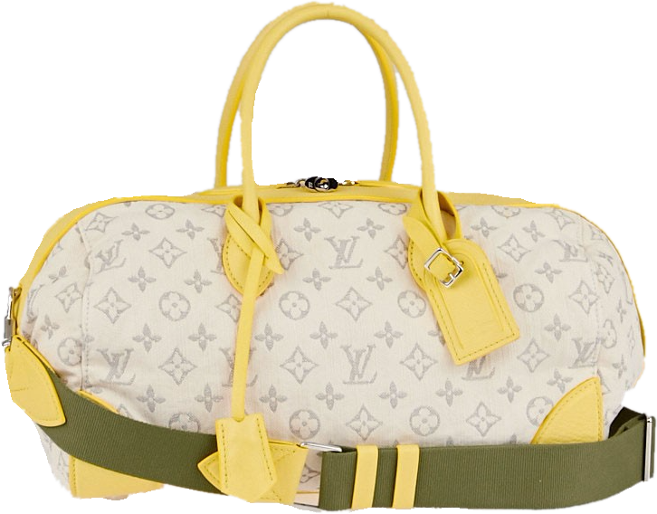 Louis Vuitton Round Speedy Monogram Jaune