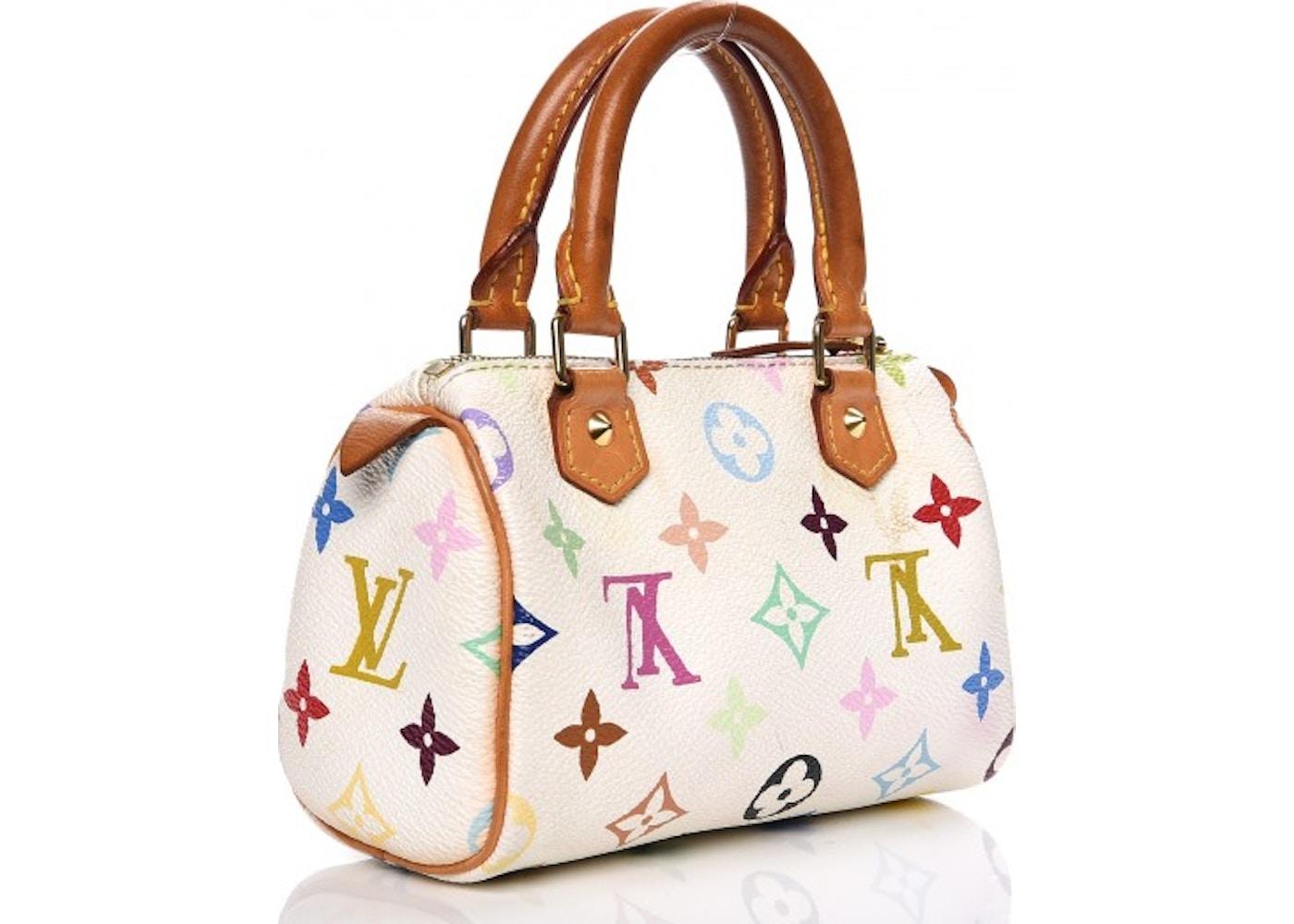 Louis Vuitton Speedy Sac HL Monogram Multicolor Mini White 303413049a525