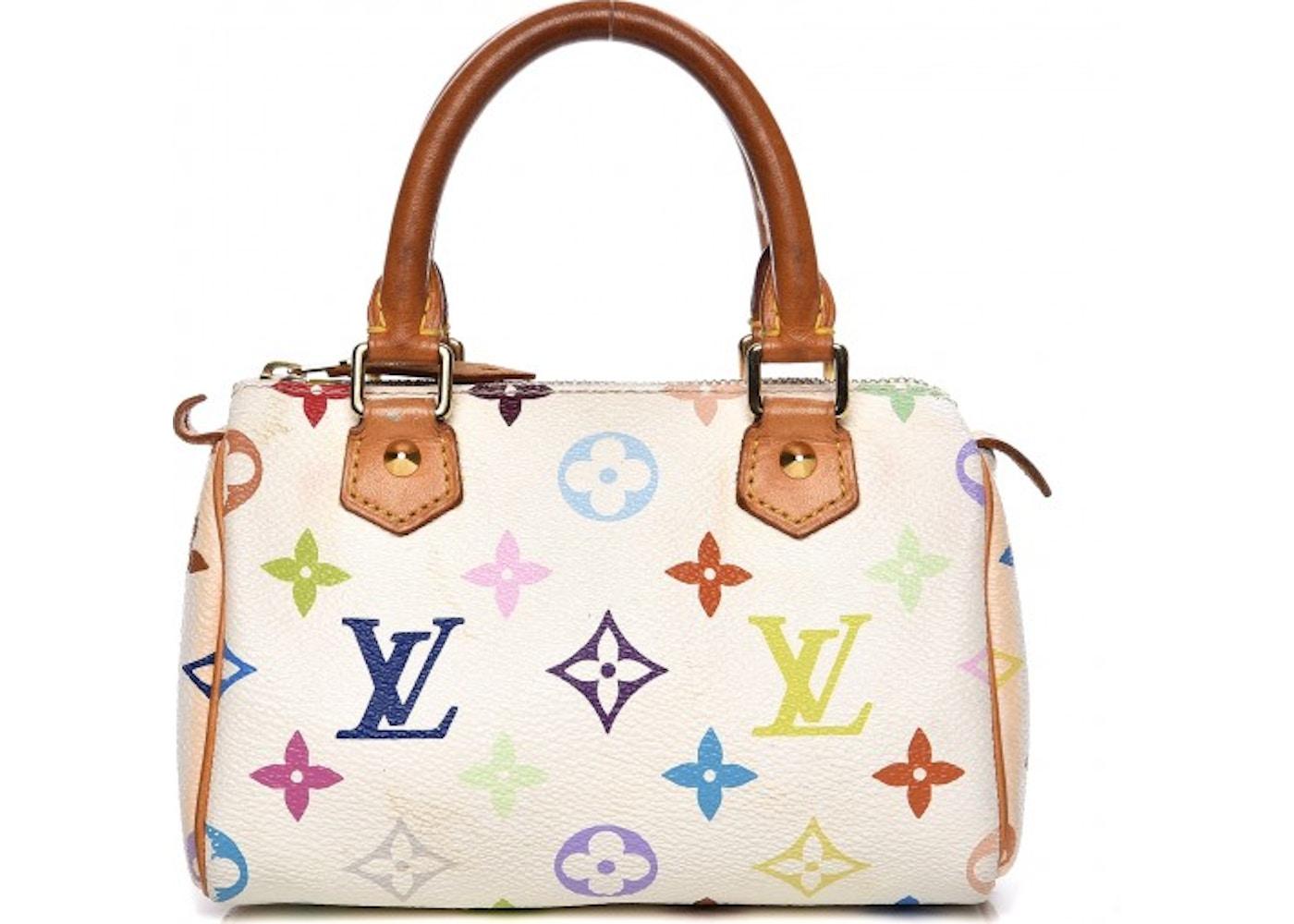 2068249f430c Louis Vuitton Speedy Sac HL Monogram Multicolor Mini White. Monogram  Multicolor Mini White