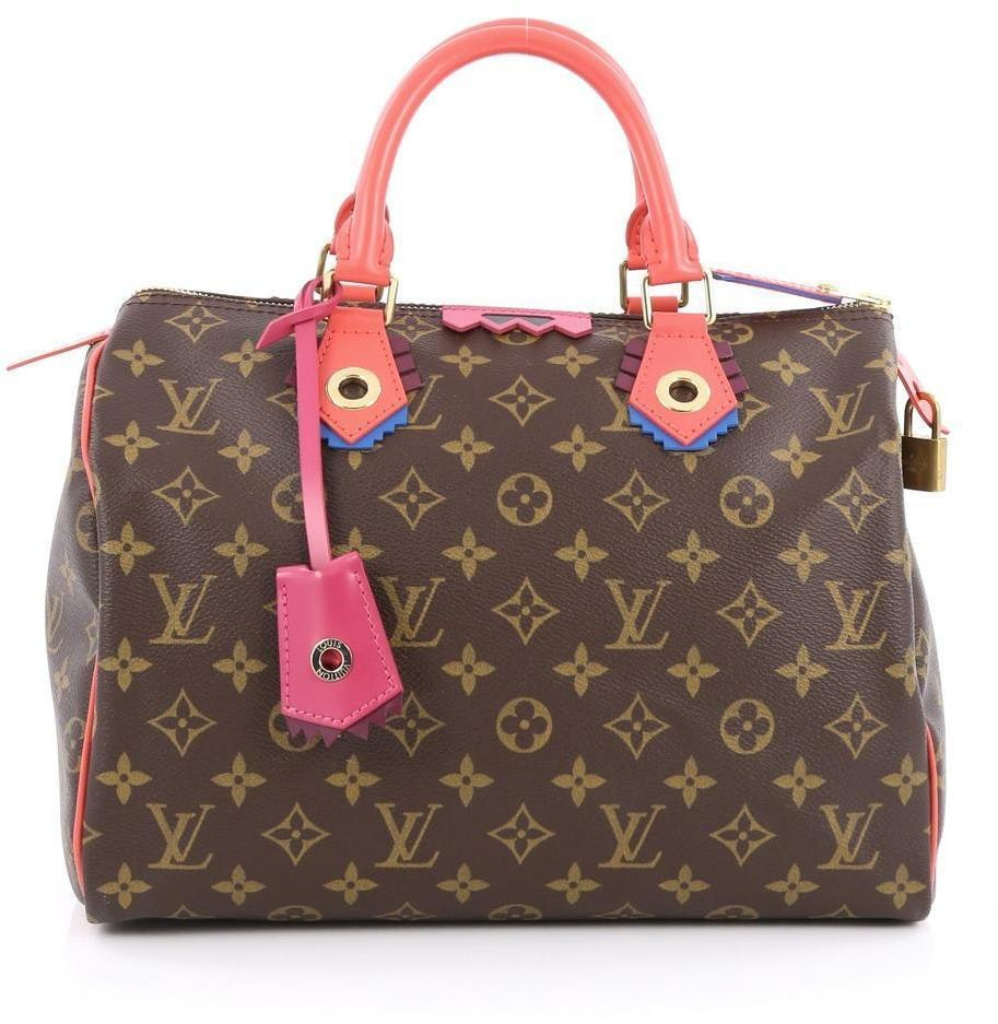 Louis Vuitton Totem Speedy Monogram 30 Brown