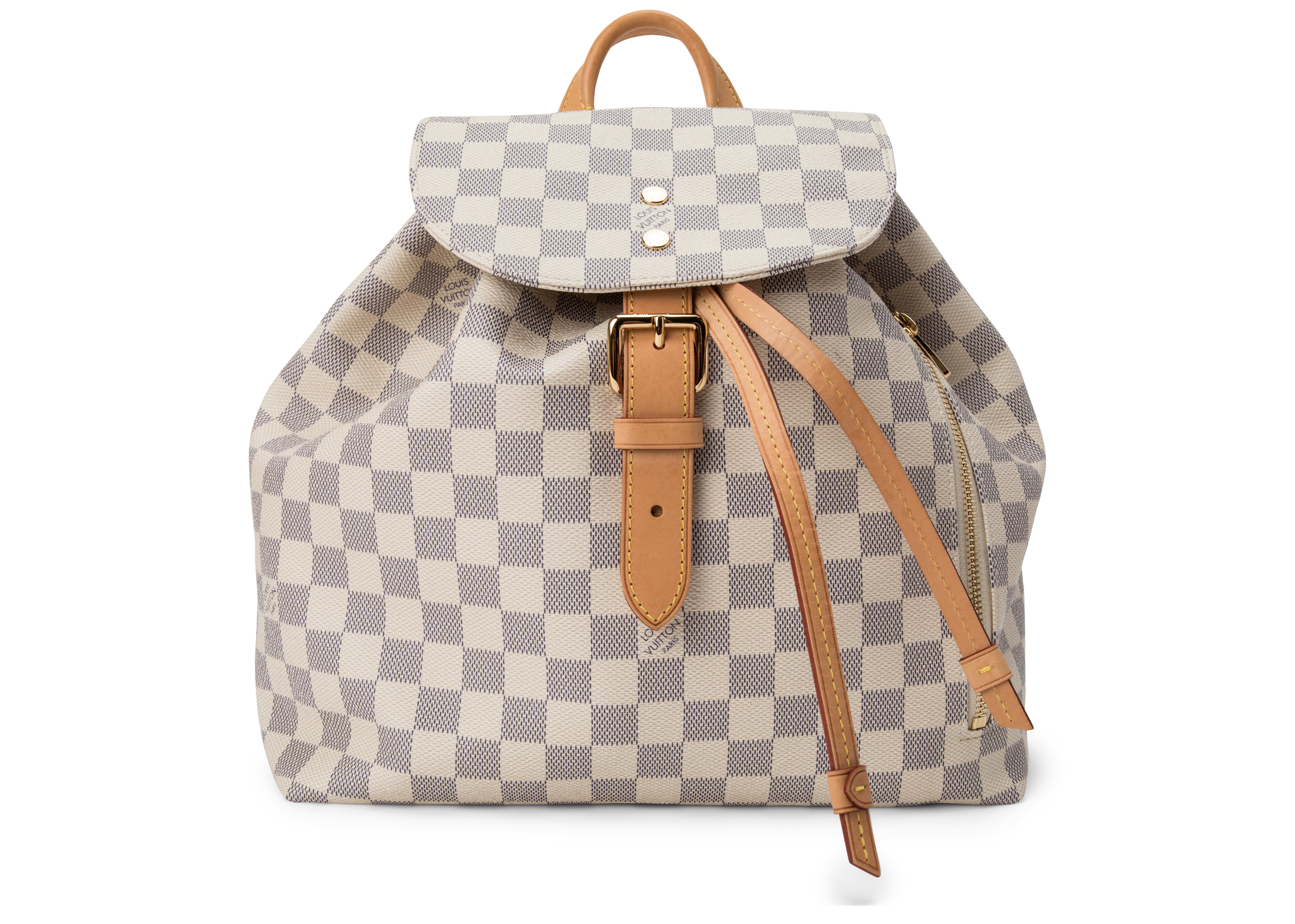 Louis Vuitton Sperone Backpack Damier Azur Ivorie/Grey
