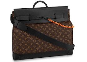 Louis Vuitton Steamer Monogram MM Brown/Black