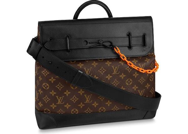 725ce5080070 Louis Vuitton Steamer Monogram PM Brown Black