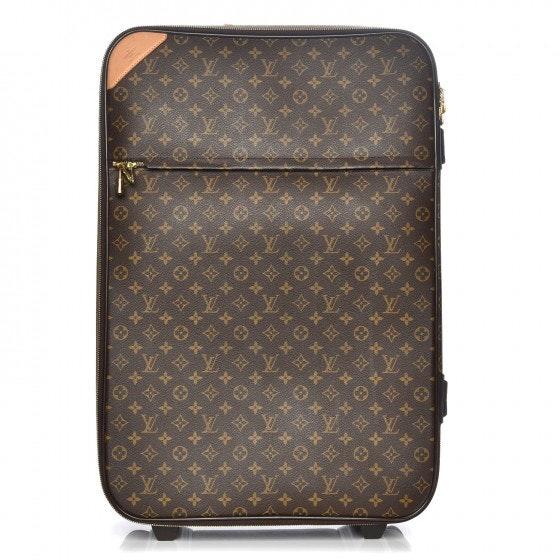 Louis Vuitton Suitcase Pegase Monogram 70 Brown
