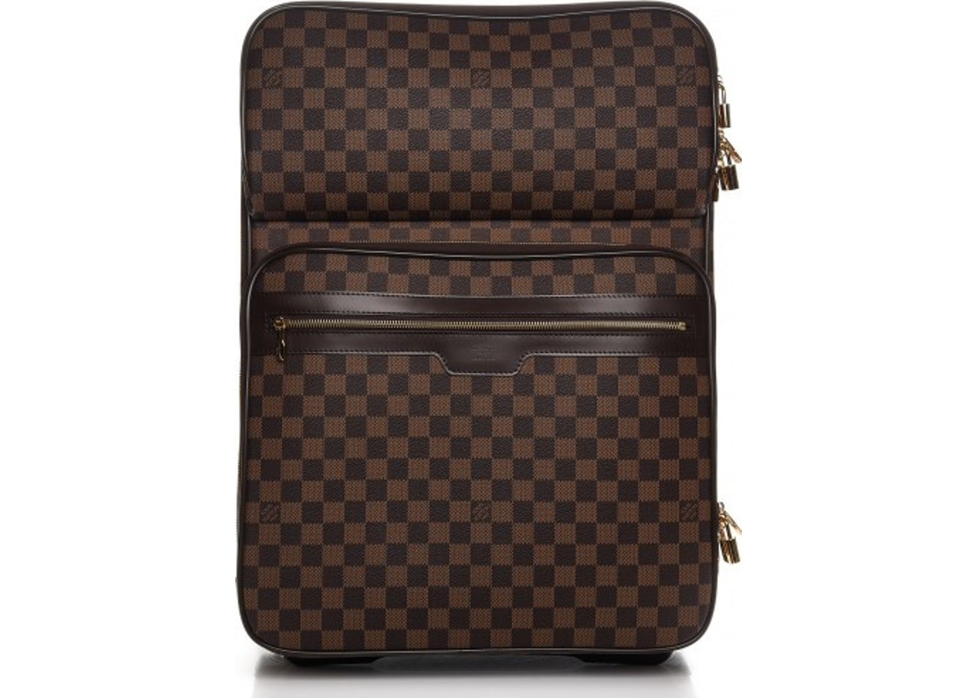 bb1d211619 Louis Vuitton Suitcase Pegase Business Damier Ebene 55 Brown. Damier Ebene  55 Brown