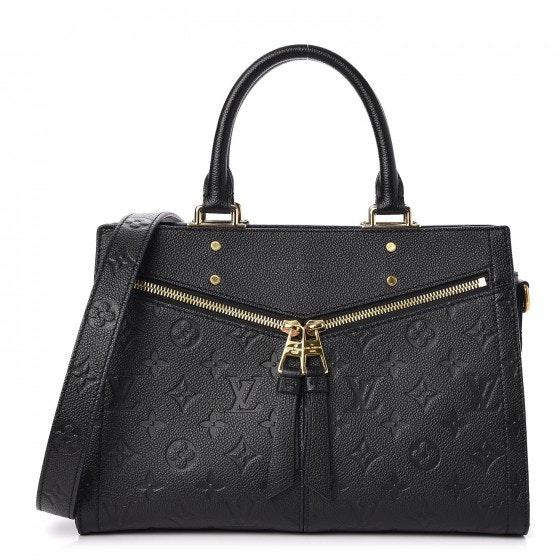 Louis Vuitton Sully Monogram Empreinte PM Noir Black