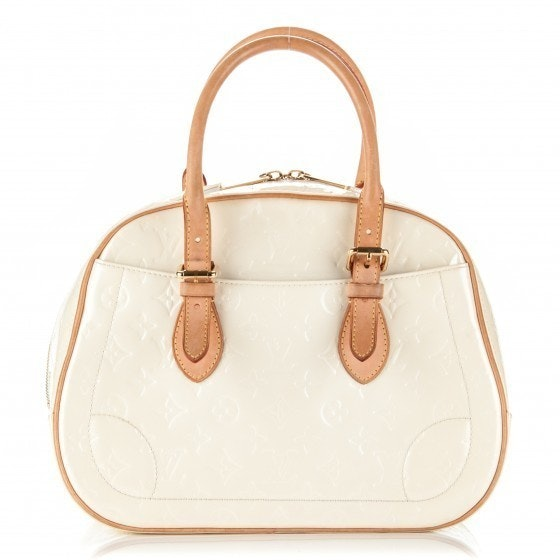 Louis Vuitton Summit Drive Monogram Vernis Pearly White
