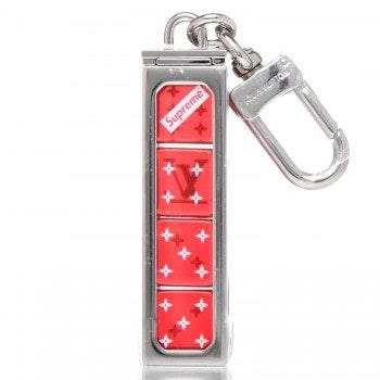 Louis Vuitton x Supreme Dice Key Chain Red