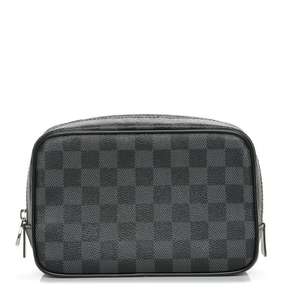 Louis Vuitton Toilet Pouch Damier Graphite PM