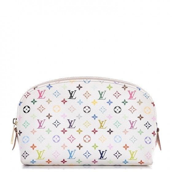 Louis Vuitton Toiletry Bag Monogram Multicolor White/Litchi