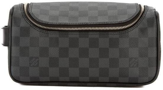 Louis Vuitton Toiletry Pouch Damier Graphite