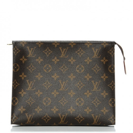 Louis Vuitton Pouch Toiletry Monogram 26 Brown