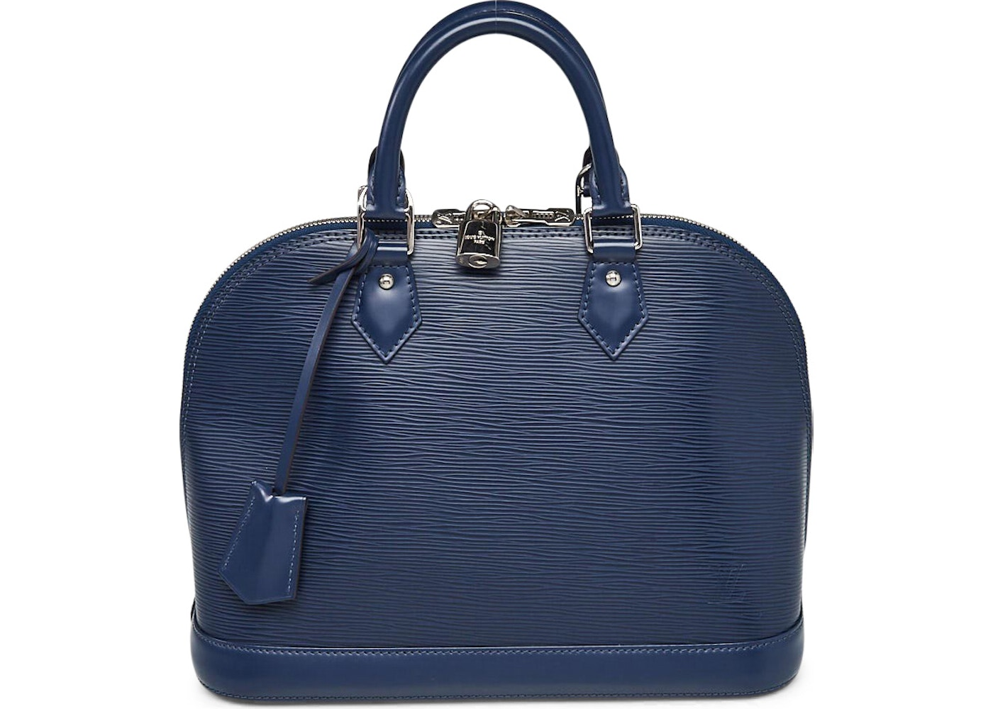 da6061b169d8 Louis Vuitton Top Handle Alma Epi PM Indigo. Epi PM Indigo