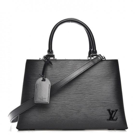 Louis Vuitton Top Handle Kleber Epi PM Noir Black