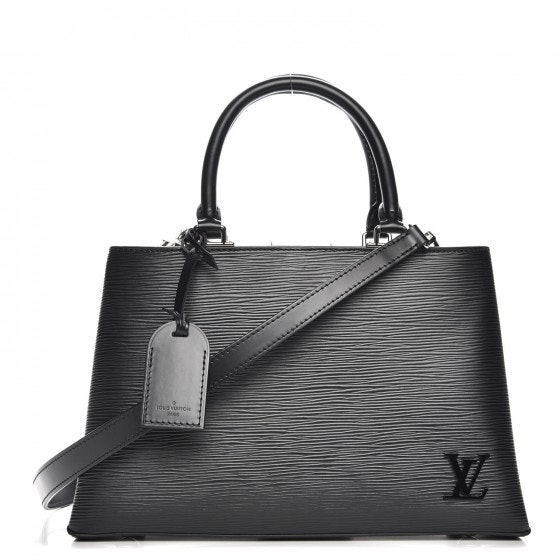Louis Vuitton Top Handle Kleber Epi PM Noir Black