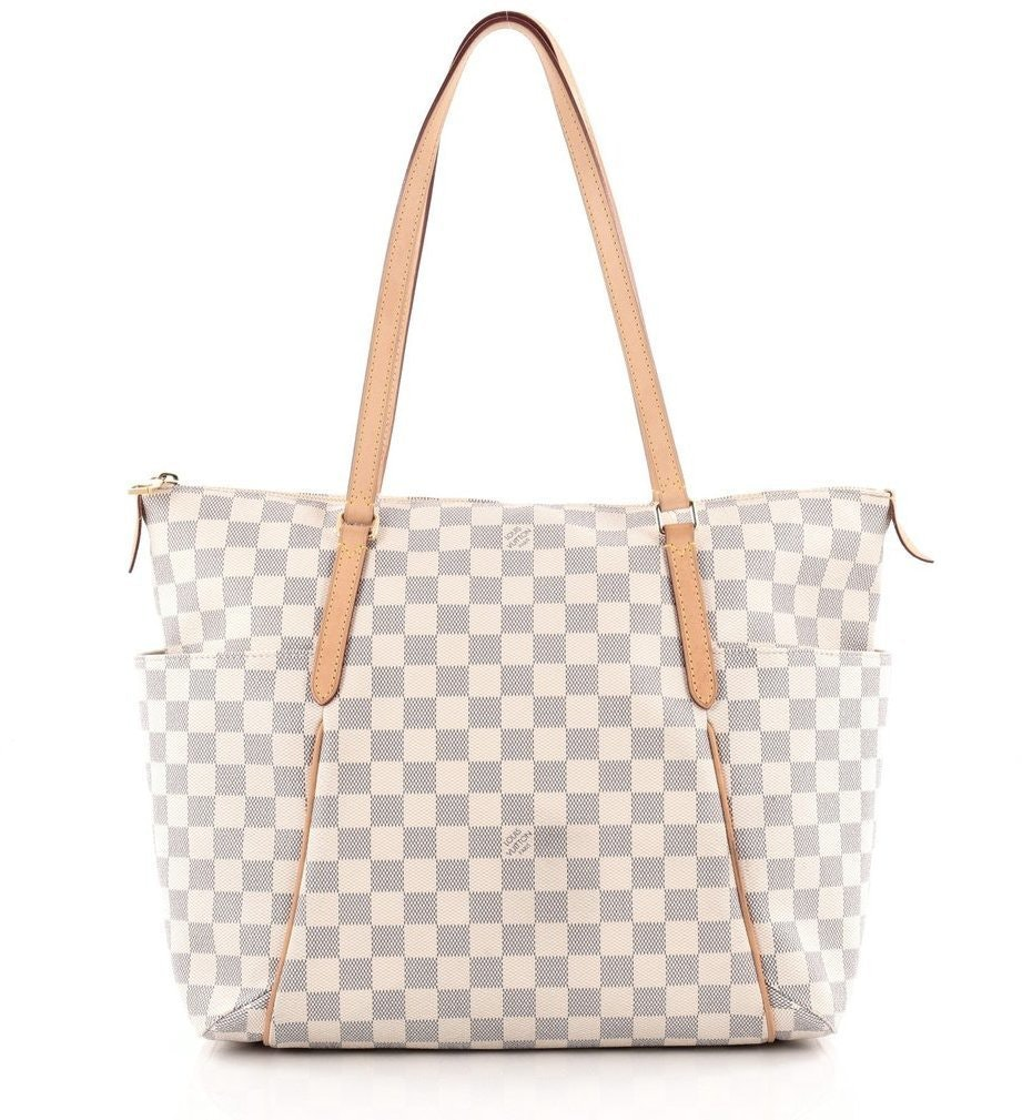 Louis Vuitton Totally Damier Azur MM Cream/Blue