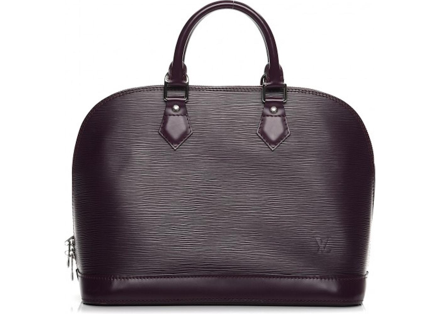 5ff5458bf9e1 Louis Vuitton Tote Alma Epi PM Cassis. Epi PM Cassis