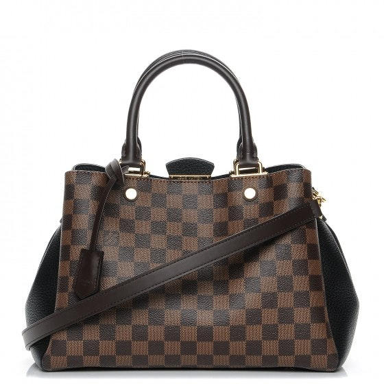Louis Vuitton Tote Brittany Damier Ebene Noir Black