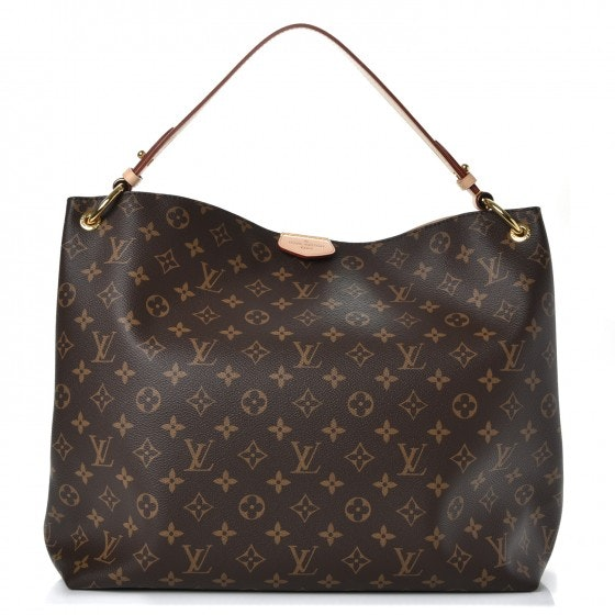 Louis Vuitton Tote Graceful Monogram MM Brown
