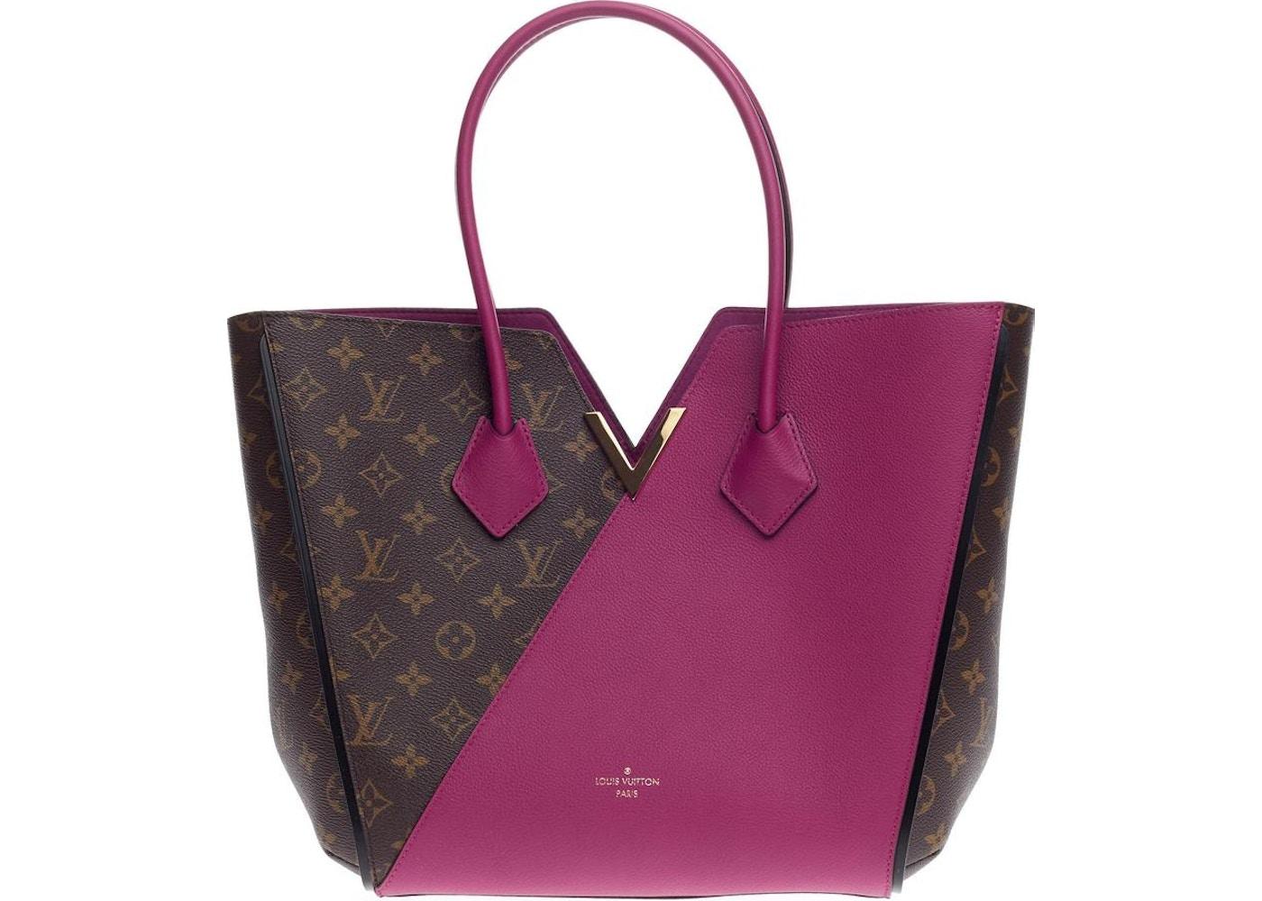 3bad6276a618 Louis Vuitton Tote Kimono Monogram Brown Grape Violet. Monogram Brown Grape  Violet