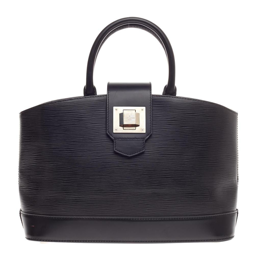 Louis Vuitton Tote Mirabeau Epi PM Black