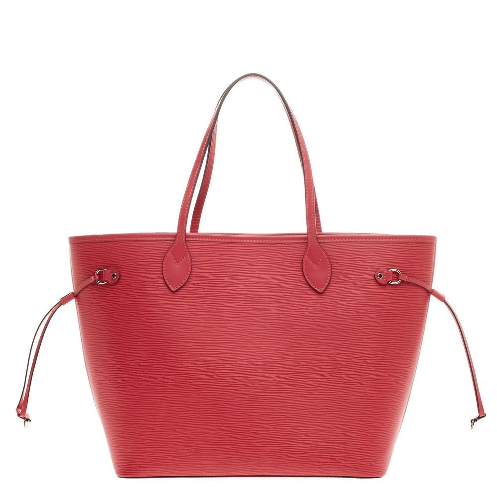 Louis Vuitton Tote Neverfull Epi MM Grenade Pink