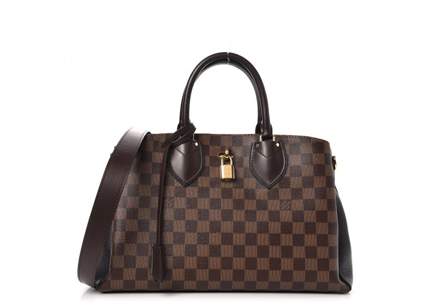 Louis Vuitton Tote Normandy Damier Ebene With Accessories Noir Black