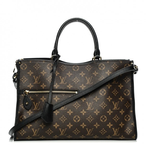Louis Vuitton Tote Popincourt Monogram MM Noir Black