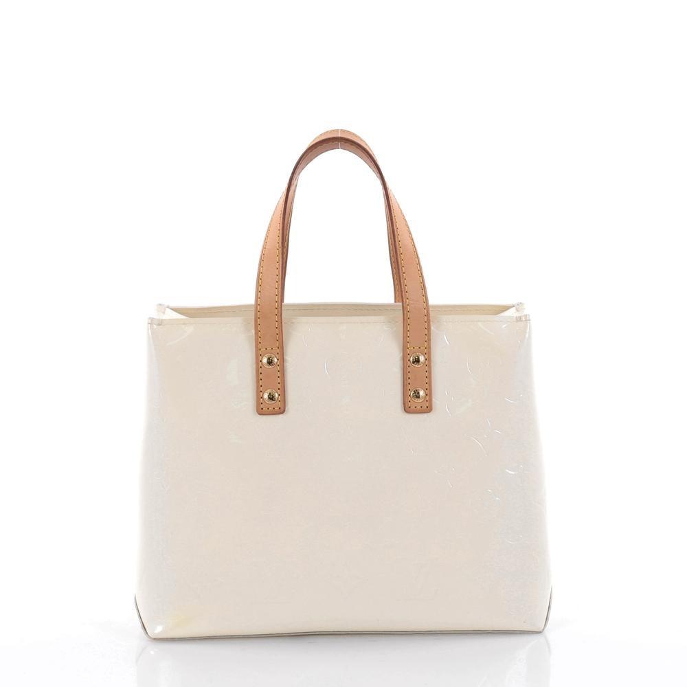 Louis Vuitton Tote Reade Monogram Vernis PM Cream