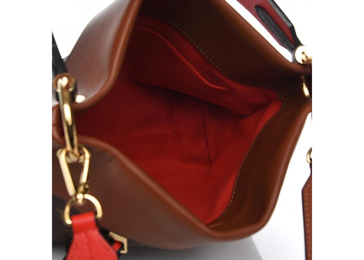 111f1205830f Louis Vuitton Tote Tuileries Besace Monogram Caramel Rouge
