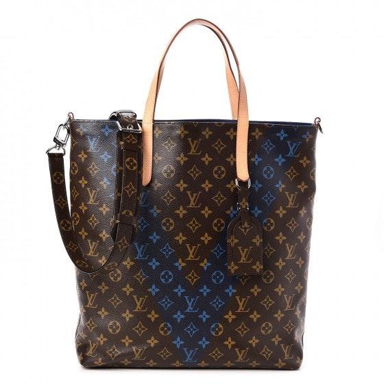 Louis Vuitton Tote V Cabas Jour Monogram Bleu