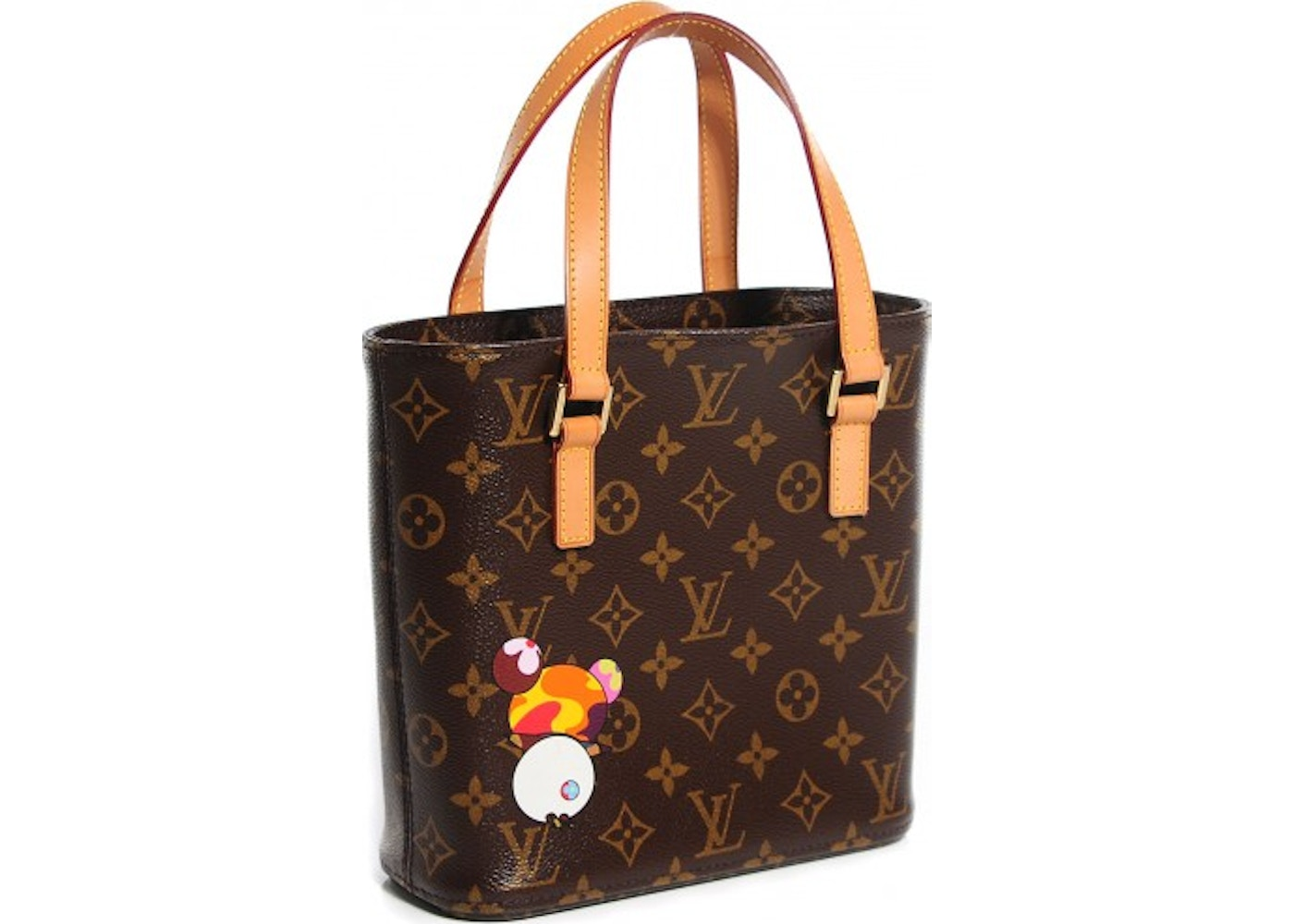3649e1b5d2fc Sell. or Ask. View All Bids. Louis Vuitton Tote Vavin Monogram Murakami  Panda Printed PM Brown
