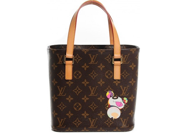 dd9f72eb1785 Louis Vuitton Tote Vavin Monogram Murakami Panda Printed PM Brown