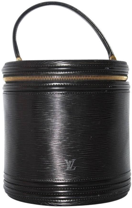 Louis Vuitton Train Case Epi Black