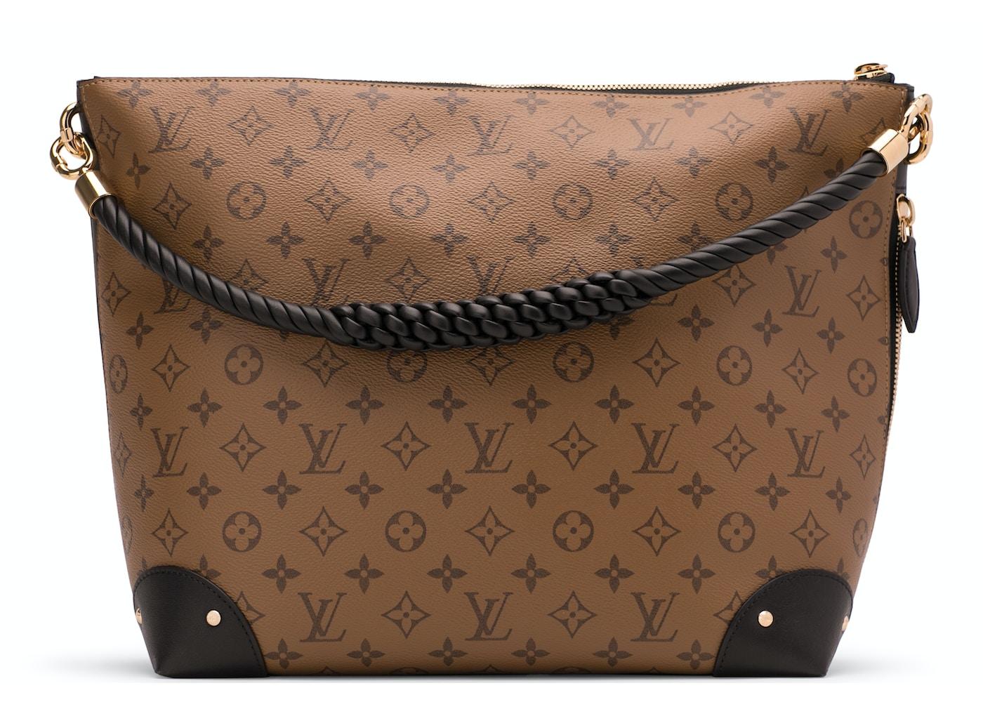96401fd6158 Louis Vuitton Hobo Triangle Softy Monogram Reverse. Monogram Reverse