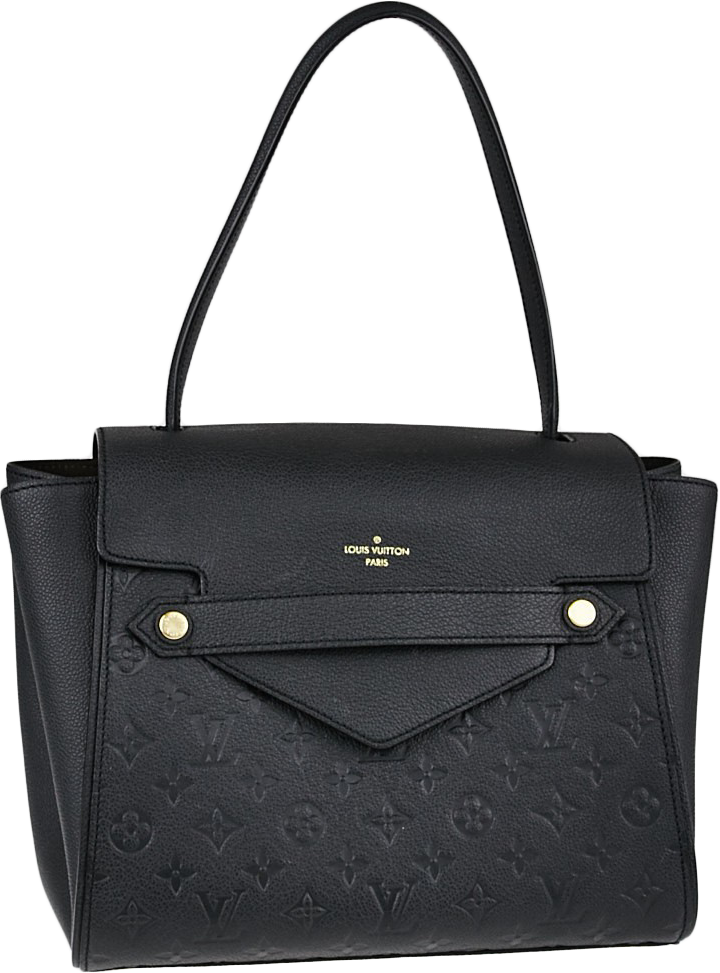 Louis Vuitton Trocadero Monogram Empreinte Black